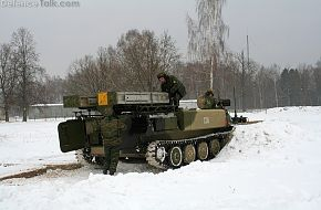 Strela-10M3 1st Gds Air-defense Rgt VDV