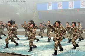 Chinese  AFP Womens Corps