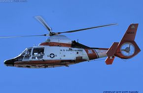 US Coast Guard HH-65 Dolphin Helicopter