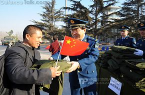 PLAAF deputy director of the Logistics Department  Li Jianjun