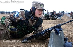 PLA Female recruits