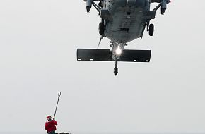 US Navy   MH-60S Sea Hawk helicopter