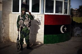 Free Libyan Army soldier