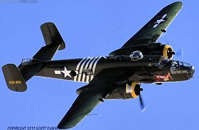 US Army Air Corps B-25 Mitchell Medium Bomber