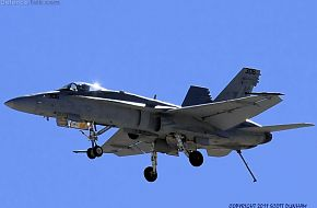 US Navy F/A-18-C Hornet Fighter