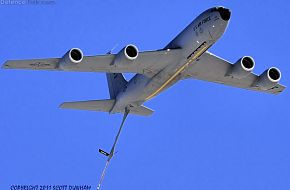 USAF KC-135R Stratotanker Transport & Refueling Aircraft