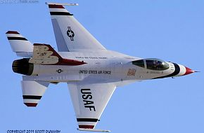 USAF Thunderbirds Flight Demonstration Team