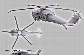 CGI of Potential Helicopter used in Operation against Osama bin Ladin
