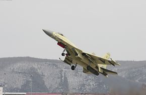 Su-35S First Serial Flight trials