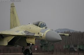 Su-35S First Serial Flight Test