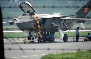 J-20 - Fighter aircraft, China