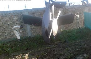 Crashed Helicopter Tail - Osama Operation