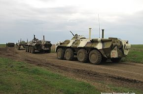 BTR-80 810th Marines Bde