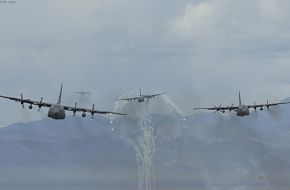 C-130 pilots participate in exercise