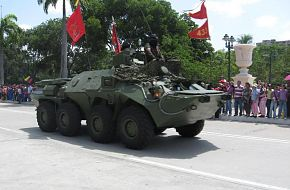 BTR-80 command vehicle