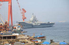 Varyag - China Aircraft carrier Sea Trials