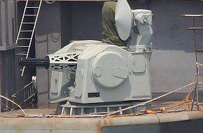 The new Chinese, PLAN Aircraft Carrier CIWS