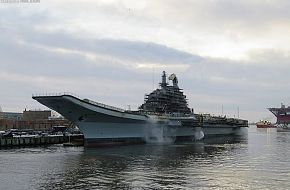 Indian Vikramaditya Aircraft carrier nearing completion