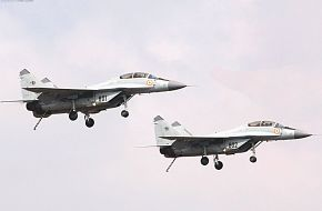 Indian Mig-29K aircraft for the Vikramaditya