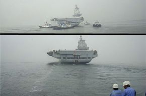 Potential propulsion problems during Chinese carrier trials