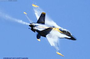 US Navy Blue Angels F/A-18D Hornet