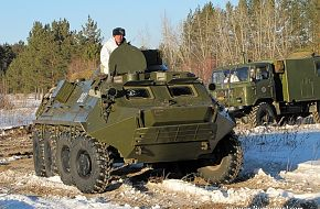 BTR-60 artillery command vehicle