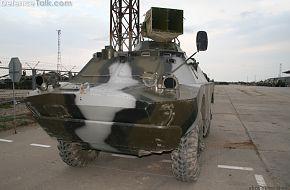 BRDM-2 with loudspeaker