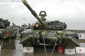 T-72B with mineroller