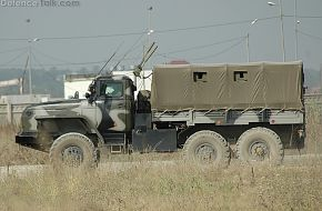 Up-Armored Ural with IED jammer