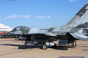 USMC F-16N Falcon Fighter