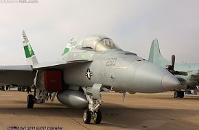US Navy F/A-18F Superhornet Fighter