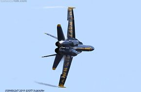 US Navy Blue Angels F/A-18C Hornet