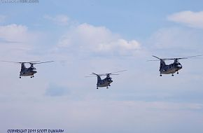 USMC CH-46 Sea Knight Helicopters