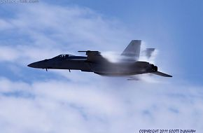 US Navy F/A-18E Super Hornet Fighter