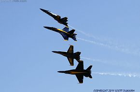 US Navy Blue Angels F/A-18 Hornet