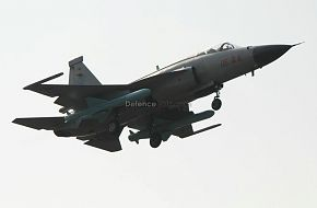 JF-17 with C802A Anti Ship Missiles