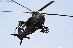 WZ10 Attack helicopter in end of 2011 2