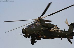 WZ10 Attack helicopter in end of 2011 1