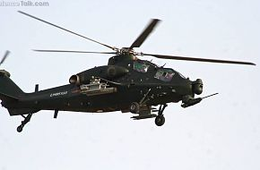 WZ10 Attack helicopter in end of 2011 6