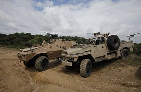 ACMAT Special Forces 4x4 vehicles