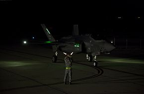 F-35A JSF Night Flight