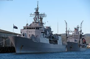 HMNZS  Te Kaha and  Endeavour
