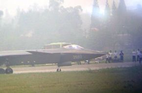 J-20 Prototype 2002 - China Air Force