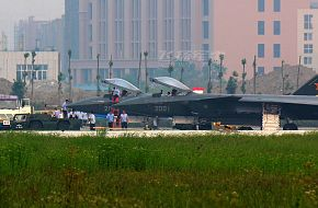 J-20 Prototype parked - China Air Force
