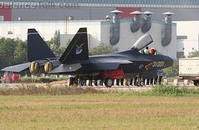 J-21 Stealth Fighter Aircraft - China