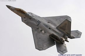 USAF F-22A Raptor Air Superiority Fighter