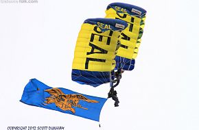 US Navy SEALS Leap Frogs