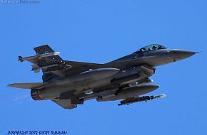 USAF F-16 Falcon Fighter