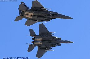 USAF F-15E Strike Eagle Fighters