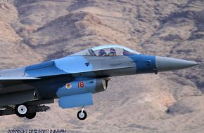 USAF Aggressor F-16 Falcon Fighter